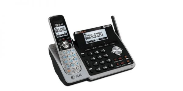 AT&T TL88102 DECT 6.0 2-Line Expandable Cordless Phone2