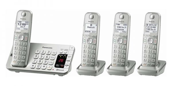 Panasonic KX-TGE474S Link2Cell Bluetooth Cordless Phone2