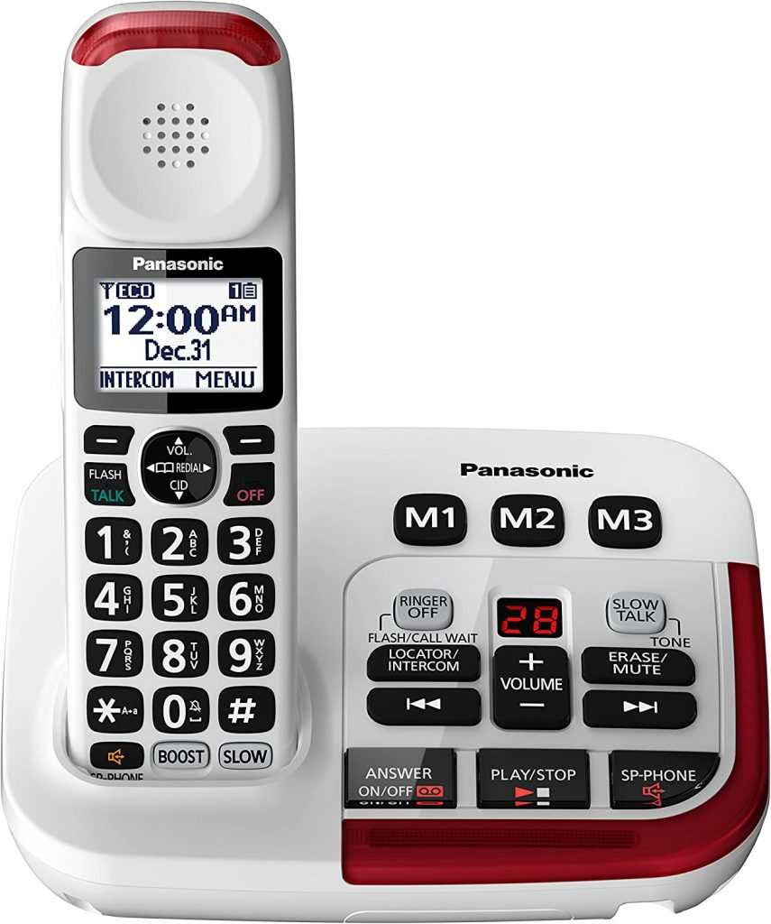 Top 5 Best Cordless Phones For Seniors Big Button And Hard Of Hearing In 2020 Vodium Tech Blog